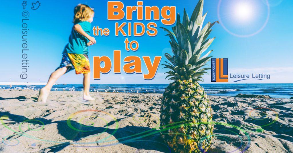 kids to the beach